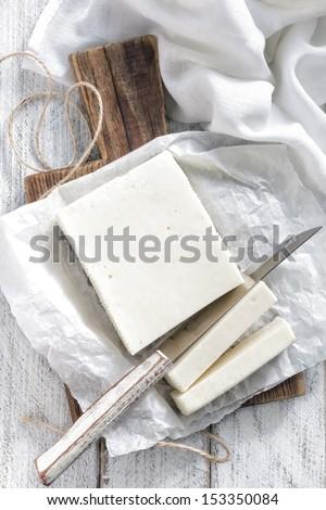 Feta - stock photo