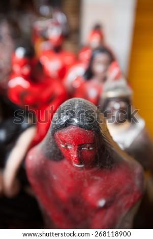 Fetish in Salvador de Bahia, Brazil - stock photo