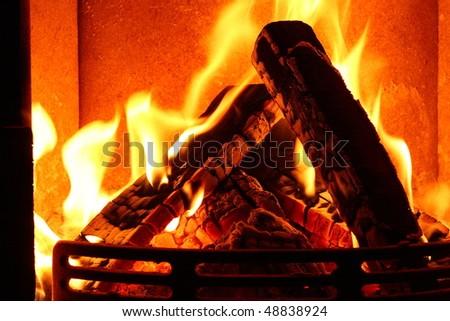 Feuer - stock photo