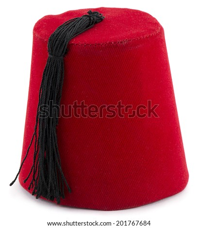 Fez or Tarboosh - stock photo