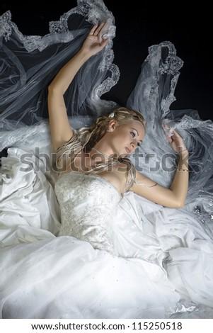 fiancee - stock photo