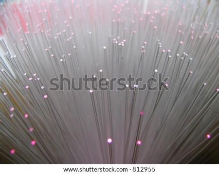 fiber optic - stock photo