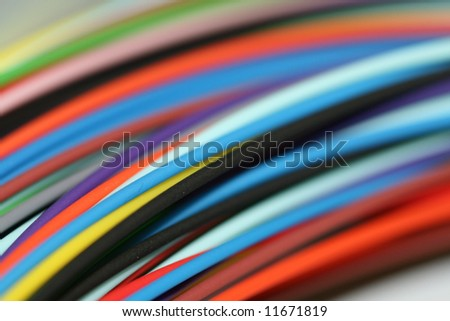 Fiber optic cable wire