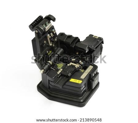 Fiber Optic Tool - stock photo