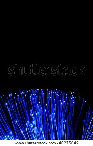 fiber optics cable from modern computer comminication technology