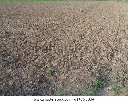 field/village works/soil