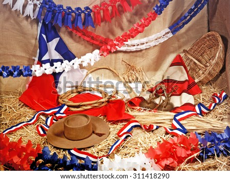 Fiesta chilena 18  - stock photo