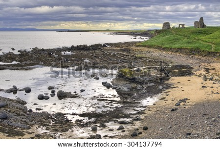 Fife Coastal Landscape - stock photo
