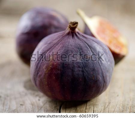 Fig Fruit - stock photo