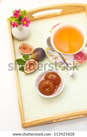 Fig Jam - stock photo
