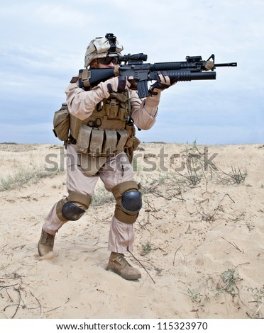 fighting - stock photo