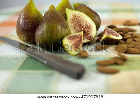 Figs and almonds
