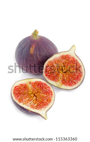 figs isolate - stock photo