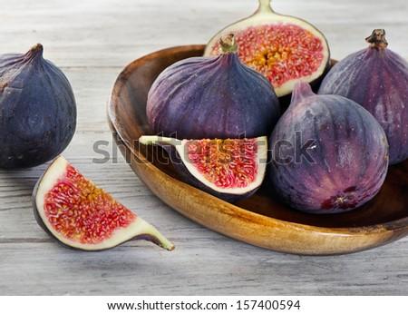 Figs . Selective focus - stock photo