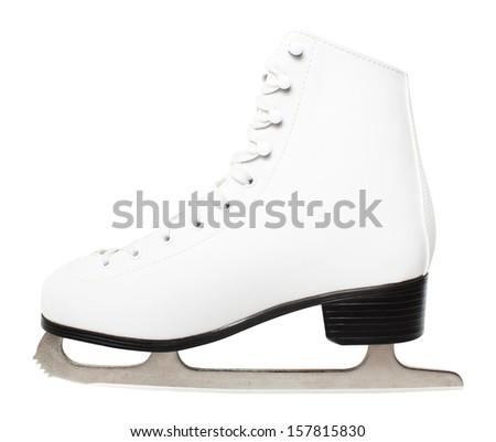 Figure skate - stock photo