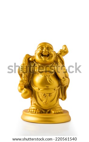 Figurine of the Buddha. - stock photo