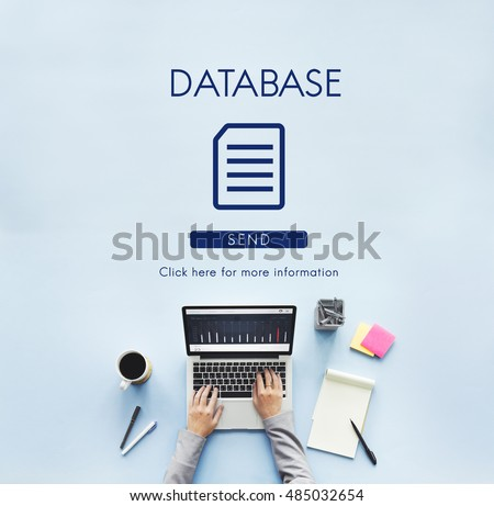 File Database Cloud Network Concept