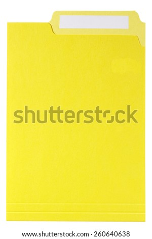 File Folder - stock photo