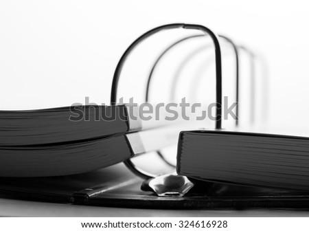 File folder - stock photo