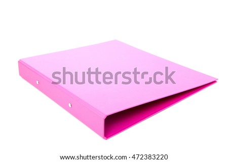 File Folders isolated on white background