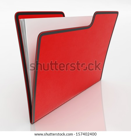 File Means Organizing Documents Filing And Paperwork - stock photo
