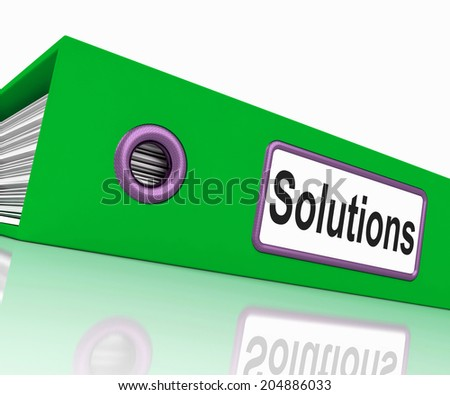 File Solutions Representing Files Paperwork And Organize