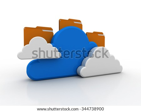 File storage, sharing, in cloud computing
