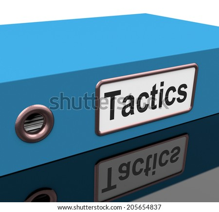 File Tactics Indicating Scheme Systems And Approaches