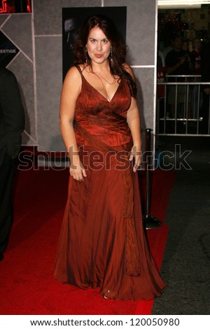 "Fileena Bahris at the World Premiere of ""The Prestige"". El Capitan Theater, Hollywood, CA. 10-17-06"