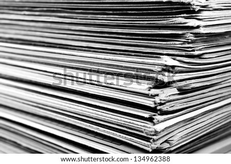 Files - stock photo