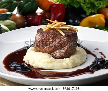 Filet Mignon - stock photo