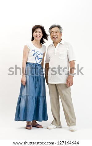 Filial piety - stock photo