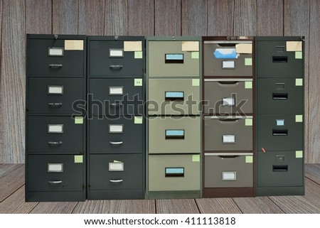 Filing cabinet,For document storage