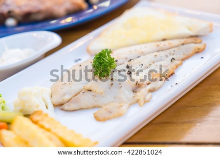 fillet fish steak