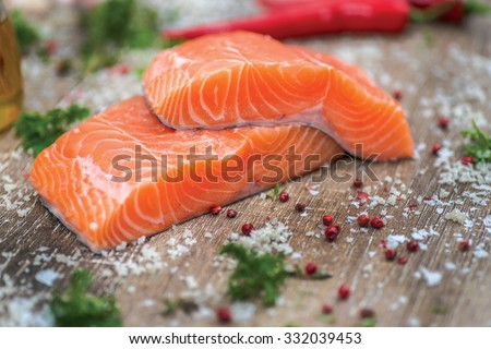 "stock photo fillet of salmon fresh and beautiful salmon fillet on a wooden table delicious fish meat 332039453 5 สุดยอดอาหารบำรุง ""สมอง"" มีอะไรบ้าง???"