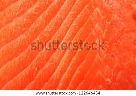 filleted salmon surface for background uses