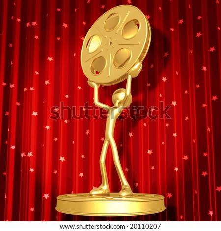 Film Award Ceremony - stock photo