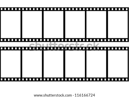 Film frame - stock photo