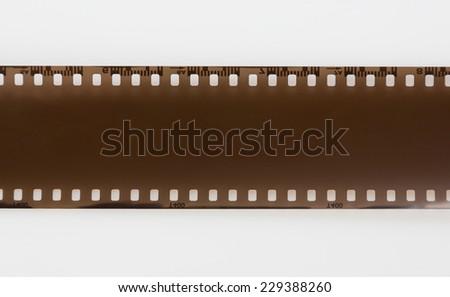 Film, isolated on white background - stock photo
