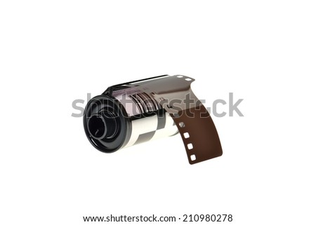 film reel old - stock photo