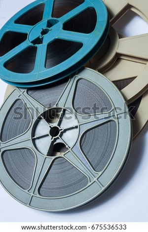 Film reels old classic tape stock photo royalty free 675536533 film reels old classic tape thecheapjerseys Choice Image