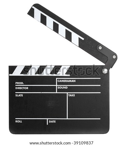 Film Slate - stock photo