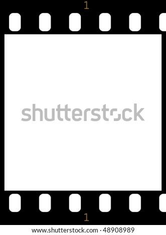 film stock - stock photo