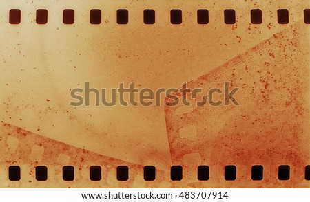 film strip grunge background