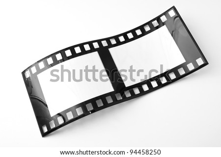 Film strip. Unusual sight. - stock photo