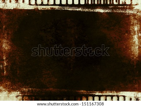 filmstrip background - stock photo