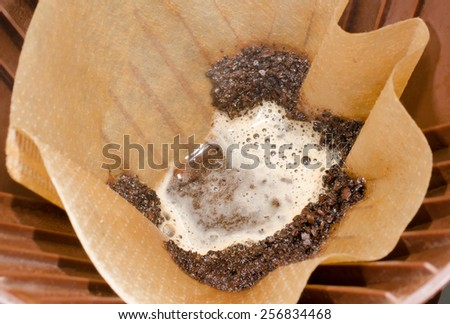 filter coffee - stock photo