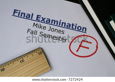 Final Examination Failed