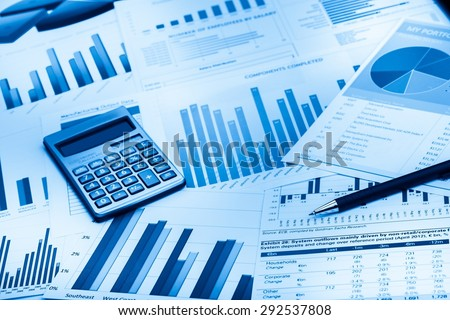 Finance, Analyzing, Market. - stock photo