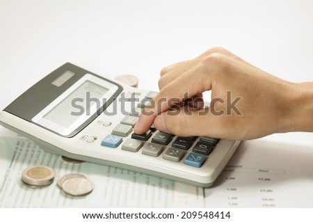 Finance and Accounting - stock photo
